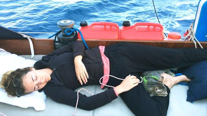 sleeping-sailing